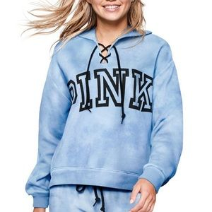 Blue hoodie from Victoria's Secret